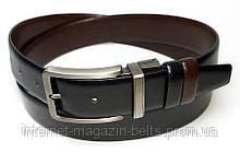 Чоловічий ремінь шкіряний односторонній Fs.Style 352DW375 чорний