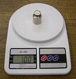 Електронні кухонні ваги 10кг, фото 2