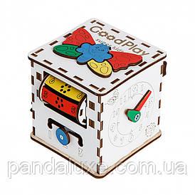 Кубик развивающий 12×12×12 Малыш K001