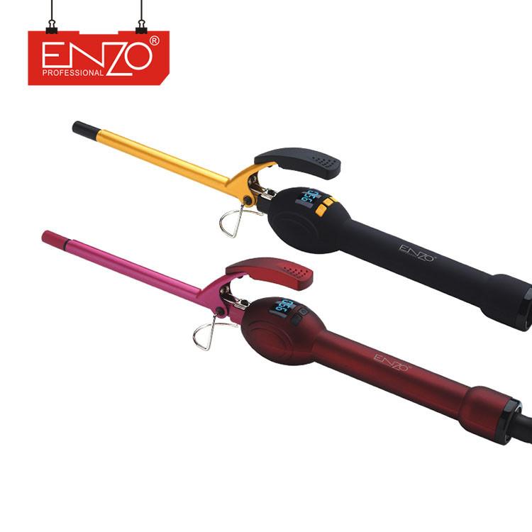 Плойка афрокудри для волосся Enzo EN-2228 з РК-дисплей, Плойка для завивки, 9мм