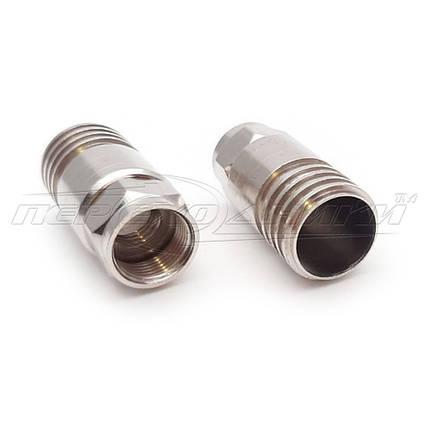 Роз'єм F - серії для кабелю RG-11(стиску), метал, фото 2