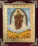 Икона С бархат 15х18 (с украшением), фото 2