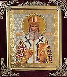 Икона С бархат 15х18 (с украшением), фото 5