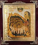 Икона С бархат 15х18 (с украшением), фото 6