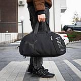 Сумка-рюкзак спортивний чоловіча PUMA Transporter BiVi-05, фото 2