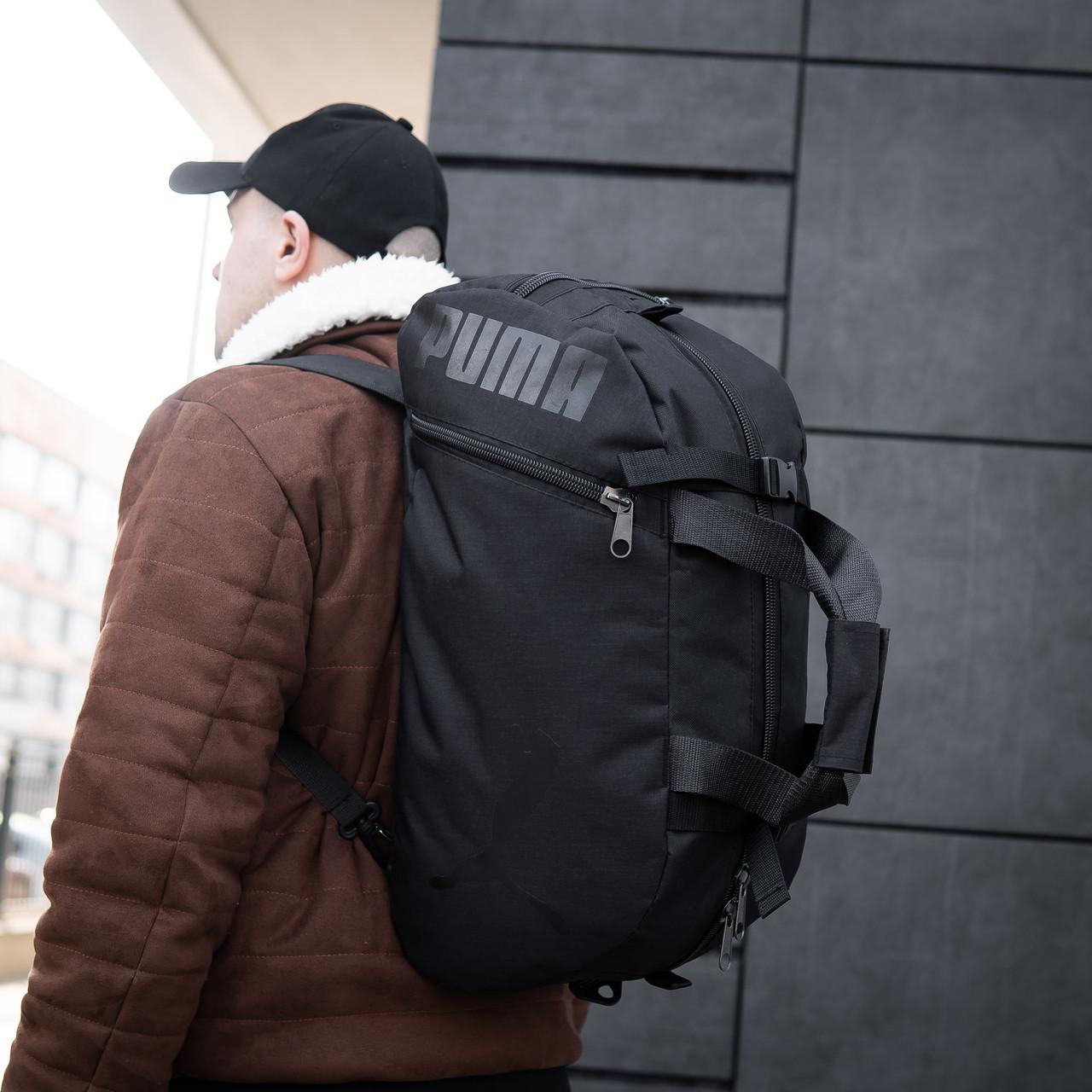Сумка-рюкзак спортивний чоловіча PUMA Transporter BiVi-05