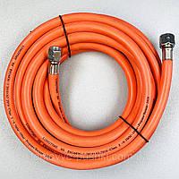 """Газовий шланг 5м MASTER BLP15 BLP17 гайка 1/4""""-3/8"""" для газової гармати, фото 1"""