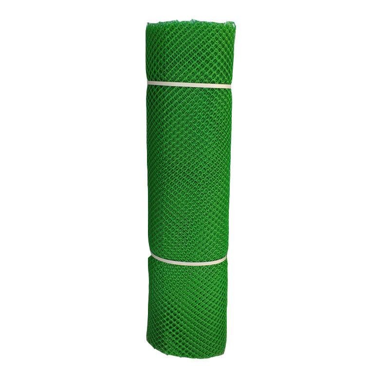 Сетка садовая пластиковая 12*12мм, Размер 1м*20м. Темно Зеленая