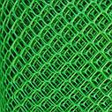 Сетка садовая пластиковая 12*12мм, Размер 1м*20м. Темно Зеленая, фото 2