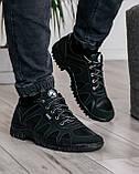 Мужские демисезонные кроссовки на протекторной подошве (KZ-15), фото 2