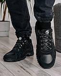 Мужские демисезонные кроссовки на протекторной подошве (KZ-15), фото 3