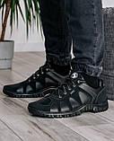 Мужские демисезонные кроссовки на протекторной подошве (KZ-15), фото 4