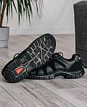 Мужские демисезонные кроссовки на протекторной подошве (KZ-15), фото 6