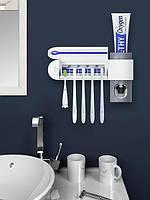 ] Держатель диспенсер для зубной пасты и щеток автоматический Toothbrush sterilizer