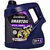 Напівсинтетичне моторне масло SmartOil 10W-40, 4 л.