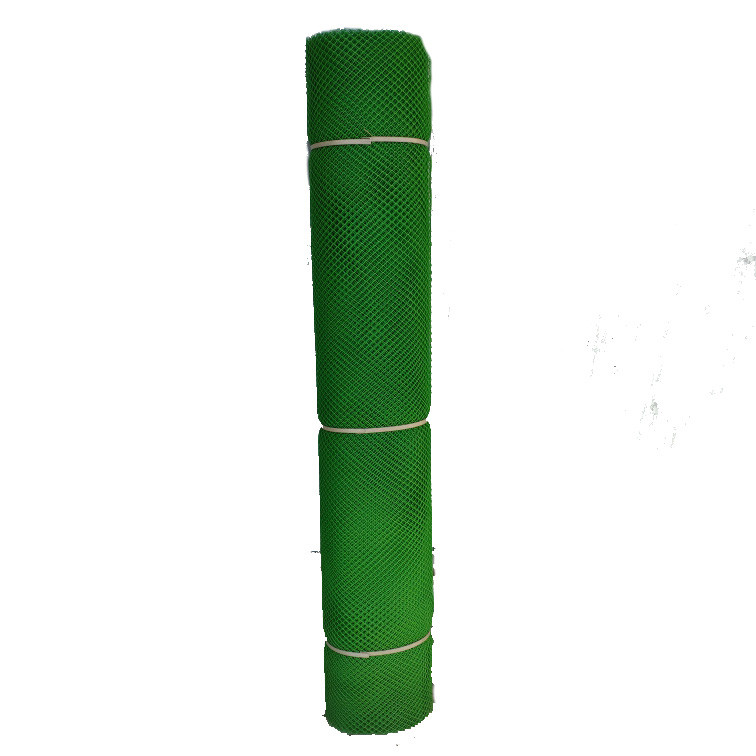 Забор садовый пластиковый 10*10мм, Размер 1,5м*20м. зеленая