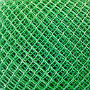 Забор садовый пластиковый 10*10мм, Размер 1,5м*20м. зеленая, фото 2