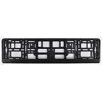 Рамка номера CarLife чорний пластик (NH100)