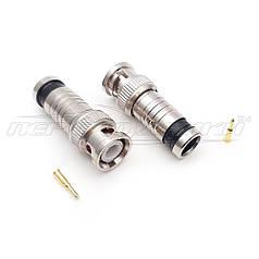 Разъем штекер BNC компрессионный под кабель RG-6