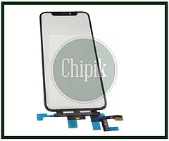 Сенсорный экран со стеклом для Apple iPhone XS, 10S, черный
