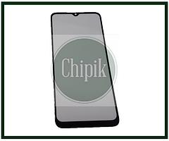 Стекло для переклейки дисплея Xiaomi Redmi 9A, Redmi 9C, c OCA пленкой, черное