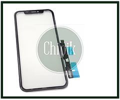 Сенсорный экран со стеклом для Apple iPhone XR, 10R, черный