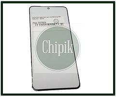 Скло для переклеювання дисплея Samsung G991, Galaxy S21, чорне