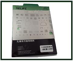 Трафарет BGA Relife RL-044 для Apple iPhone 11, 11 Pro, 11 Pro Max