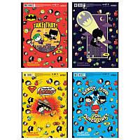 Альбом для рисования Kite DC comics 30л на спирали микс 4 диз (DC21-243)