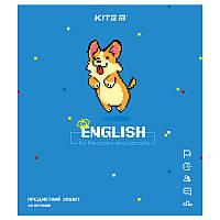 Предметная тетрадь в клетку Kite Английский 48л (K21-240-10)