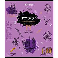 Предметная тетрадь в клетку Kite История 48л (K21-240-04)