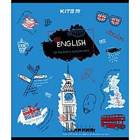 Предметная тетрадь в линию Kite Английский 48л (K21-240-02)