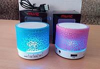 Маленькая портативная колонка bluetooth с подсветкой акустика s60, мини колонка-акустика, портативные колонки