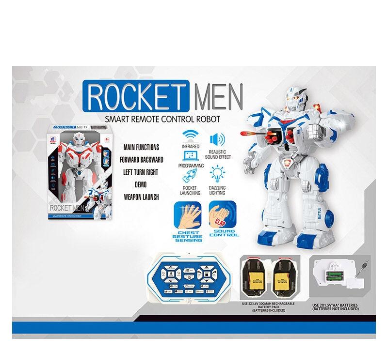 Бойовой робот Rocket Men 6029