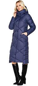 Куртка женская синяя комфортная модель 31063 (ОСТАЛСЯ ТОЛЬКО 50(L))