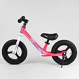 Велобіг від CORSO Rocket магнієвий двоколісний надувні колеса, фото 7
