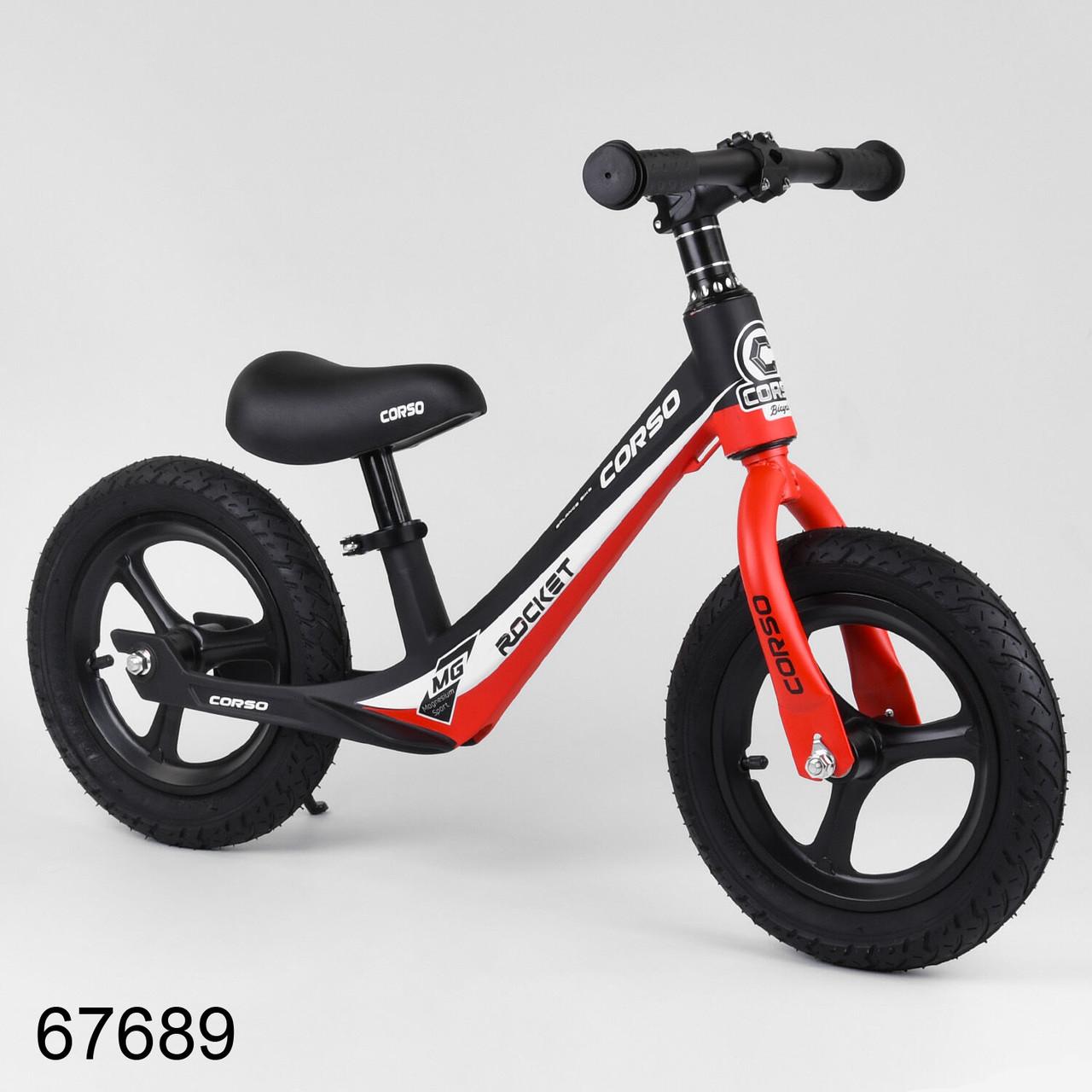 Велобіг від CORSO Rocket магнієвий двоколісний надувні колеса