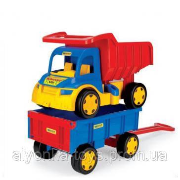 """Грузовик с прицепом Gigant Truck - интернет-магазин детских игрушек """"Аленка"""" в Киеве"""