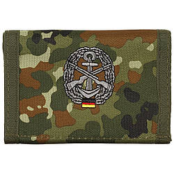 Гаманець «Бундесвер» флектарн з емблемою «морська оборона» MFH