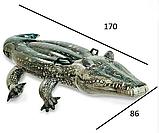 """Дитячий надувний пліт Intex 57551 """"Крокодил"""", 86 на 170 см, фото 2"""