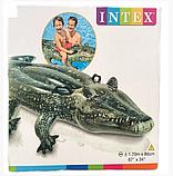 """Дитячий надувний пліт Intex 57551 """"Крокодил"""", 86 на 170 см, фото 3"""