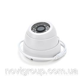 1.3 MP камера купольна 3424HD-XM, корпус пластик AHD / HDCVI / HDTVI / Analog 3.6 мм