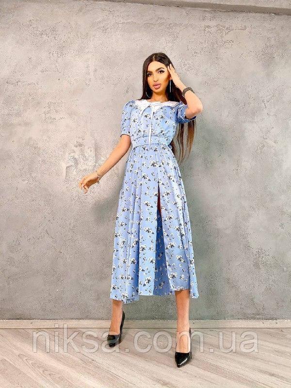 Шелковое платье со съемным воротником, разные цвета