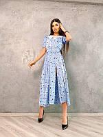 Шелковое платье со съемным воротником, разные цвета, фото 1