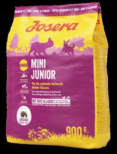 Josera MiniJunior 0,9 кг - корм з качкою для цуценят з 3-х тижнів дрібних порід