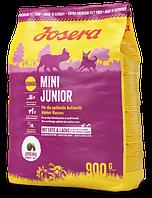 Josera MiniJunior 0,9 кг - корм з качкою для цуценят з 3-х тижнів дрібних порід, фото 1