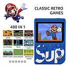 Портативна ігрова приставка Game Box SUP на 400 ігор Retro dendy консоль денді до телевізора геймпад, фото 8