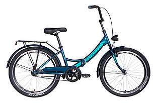 """Велосипед 24"""" Formula SMART з ліхтарем 2021 (малахітовий)"""