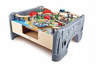 Ігровий стіл Mockie з дерев'яною залізної Hape 70 елементів Німеччина