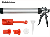 Пистолет для затирки швов со сменными насадками Yato YT-67583
